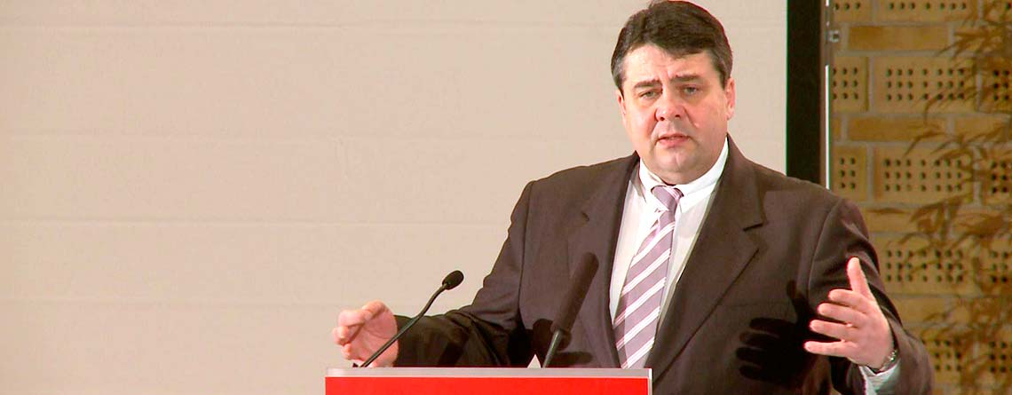 Deutschlands Vizekanzkler Sigmar Gabriel: Deutschland soll von der Schweiz lernen