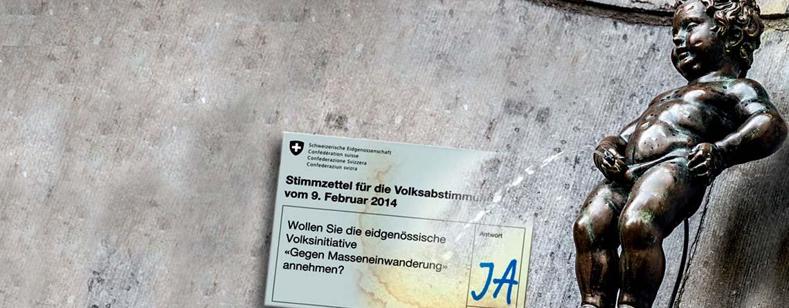 Die EU akzeptiert Schweizer Volksentscheid nicht