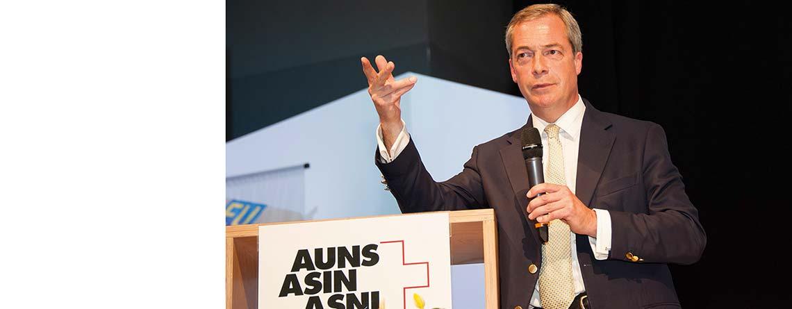 «Alle Länder Europas sollten aus der EU austreten!»