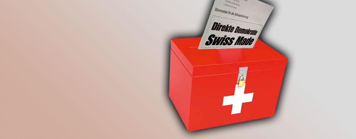 Direkte Demokratie: Schweiz ist (noch) ein Vorbild