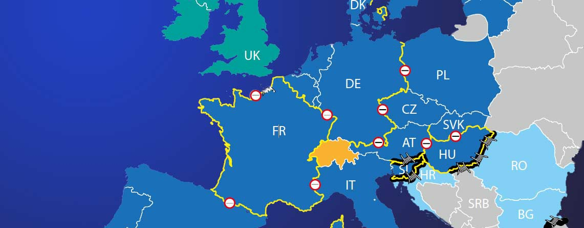 Grenzkontrollen: Die EU ist unfähig, eigene Regeln einzuhalten