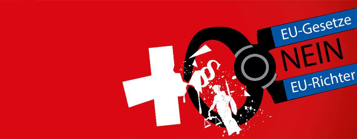 Nein zur Anbindung der Schweiz an die EU-Gesetzgebung