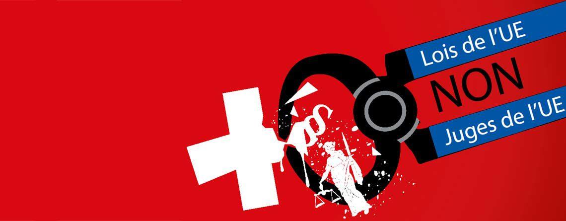 Non au rattachement de la Suisse  à la législation UE