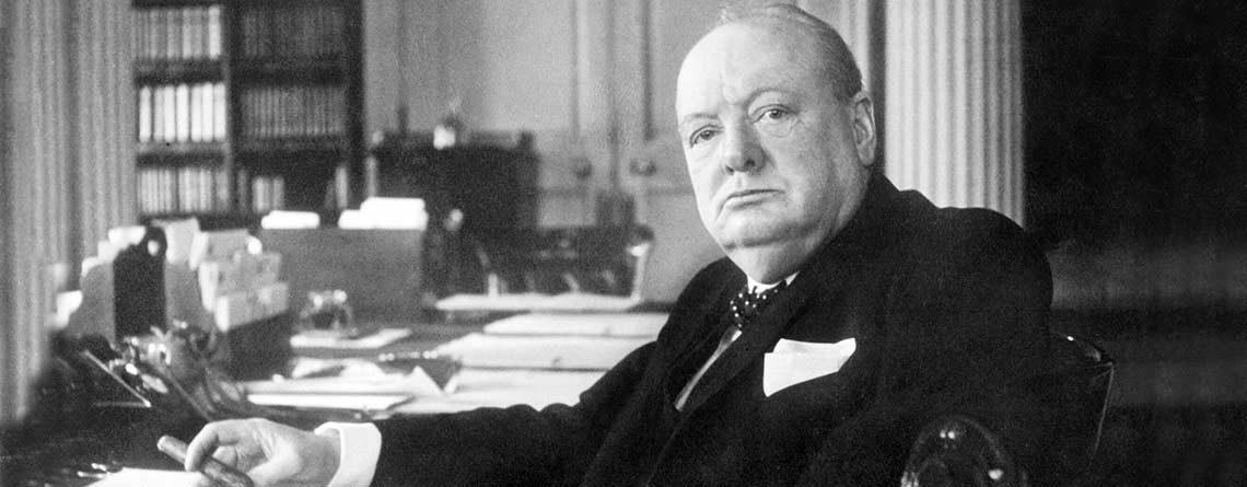 Vor 70 Jahren sprach Churchill in Zürich