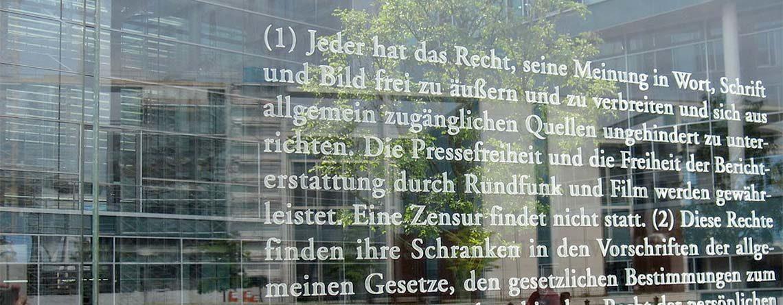 Tschüss Redefreiheit: Jetzt in Deutschland, bald überall?