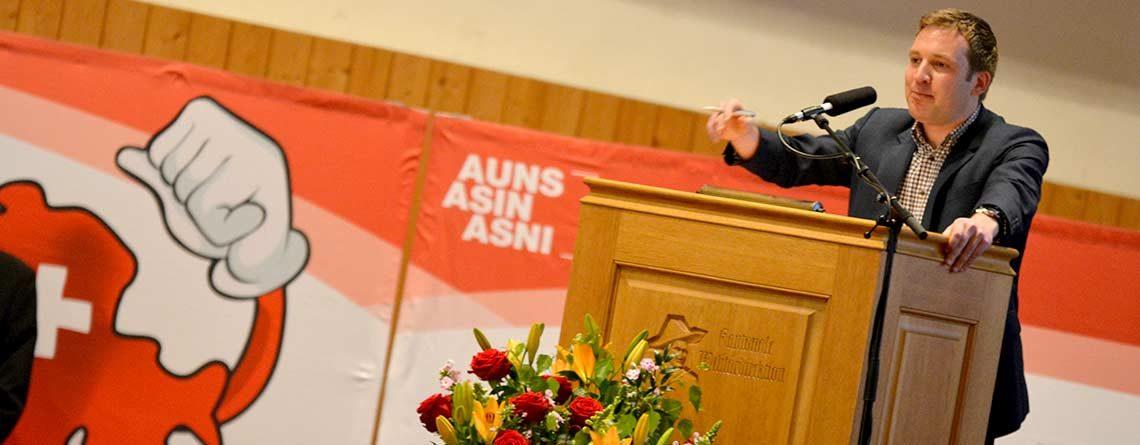 AUNS lanciert an der Mitgliederversammlung Initiative