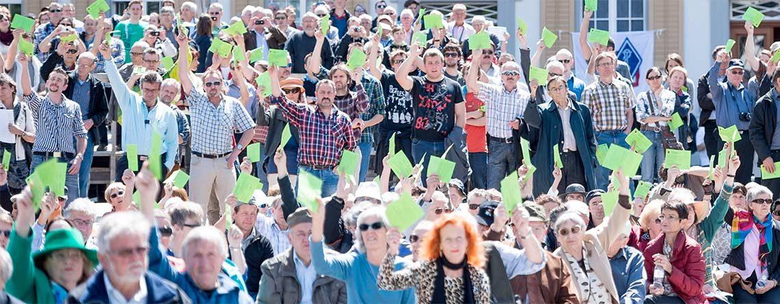 16. Dezember 2016: Staatsstreich in Bern – jetzt wird korrigiert: