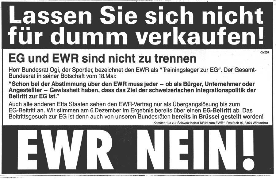 EWR Inserat