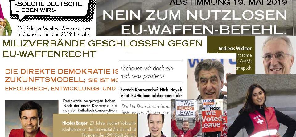 Neues AUNS-Bulletin: nichts für Anpasser und Bequeme.