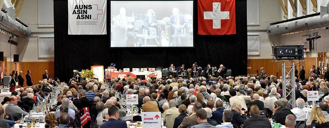 Auns Aktion Für Eine Unabhängige Und Neutrale Schweiz