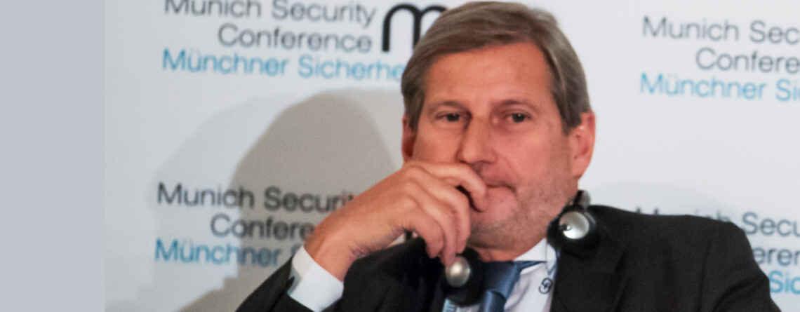 EU-Kommissar Hahn: Unfreundlich, aggressiv, undemokratisch: Hier die deutsche Übersetzung